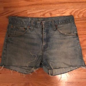 Levi vintage denim vintage shorts